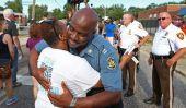 Michael Brown tournage: State Trooper en charge de protestations Ferguson rejoint le Mars
