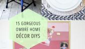 15 DIYs Superbe Ombre Décoration