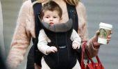 Sienna Miller sort avec sa fille Marlow Et OMG t-elle avoir des cheveux!  (Photos)