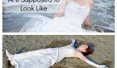 """Ce que vos 'Trash la robe """"Shots ressemble vraiment (Photos)"""