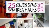 25 Nouveaux + Impressionnant Hacks IKEA pour le printemps '13