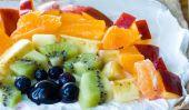 Fruity arc Wraps.  Art Kids Eat!