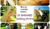 Que pensaient-ils?  Totalement 20 Awkward Photos de mariage