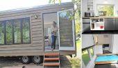 """Maison minuscule conçu pour fonctionner """"Off the Grid"""" Pour l'énergie électrique et de l'eau"""