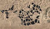 Biggest Tire Cimetière de worldâ € ™ s dans Sulabiya, Koweït