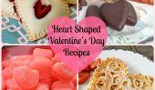 14 en forme de coeur Recettes pour la Saint Valentin