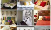 Relooking de chambres: 22 Têtes de bricolage pour Mom & Dad