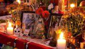 Célébration de San Francisco de la Croix-culturel de El Dia de los Muertos Unites Anglos et les Latinos
