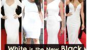 Le blanc est le nouveau noir: Kim Kardashian, Kate Hudson et Plus