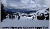 2014 Olympiques d'hiver iPhone Apps pour les Jeux d'hiver Fun on the Go