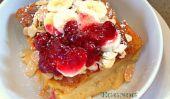 Lait de poule française Toast Casserole - Le petit déjeuner parfait de Noël
