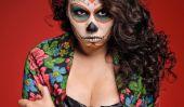 Jour du Guide Morte: cheveux, maquillage, et de la Mode