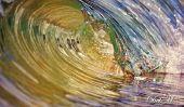 Photographies de petites vagues par Deb Morris