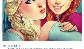 Personnages de Disney sur Instagram sont un peu comme les adolescents réguliers sur Instagram