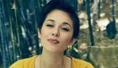 Fangirling sur Internet à l'étoile et musicien indie, Kina Grannis