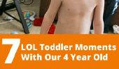Moments Toddler 7 de LOL avec notre 4-Year-Old