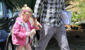 Ben Affleck aide Violet Avec ses chaussures!  (Photos)