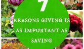 7 raisons Donner est aussi important que Saving Quand il est question d'argent