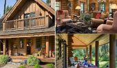 Moderne Log Cabin