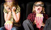 Cinéma bon - afin de la rendre créative comme cadeau d'anniversaire