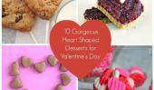 10 Desserts magnifique en forme de coeur pour votre Valentine