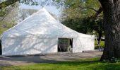 Instructions de montage pour une tente de fête 3x9 mètres