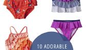 10 Adorable Articles Maillots de bain pour bébé fille!