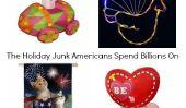 20 pourriel Décorations de vacances Américains dépensent des milliards sur