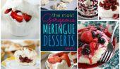 Les plus belles Meringue Desserts jamais!