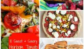 10 Sweet & Savory Recettes avec Heirloom Tomatoes
