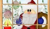 Peindre des photos de Santa Claus - Pour animer les enfants
