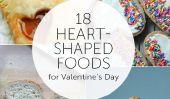 18 aliments en forme de coeur pour la Saint Valentin