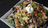 Super Bowl Recettes: Briquet Turquie et haricots blancs Chili Nachos