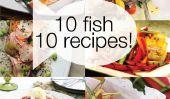 10 Actualisation des façons de se préparer pour le dîner de poisson