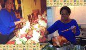 Thanksgiving: Stars célébrer la saison de la Turquie