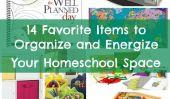 14 Articles d'organiser et de dynamiser votre espace Homeschool
