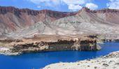 Le Deep Blue Lakes de Band-e-Amir, l'Afghanistan
