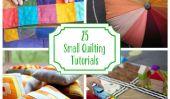 25 Petit Quilting Tutoriels