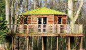 Treehouse Hôtel en Allemagne - un vacances originales et moins chers si bien réussi à la maison