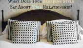 Qu'est-ce que votre style de couchage dire sur votre relation?