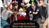 Médias sociaux Toutes les stars Afficher Leur Disney Side: 10 Photos de la première mondiale de l'événement