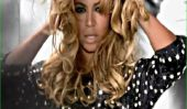 Bump-moins Beyonce fait la couverture Harpers Bazaar (Photos)
