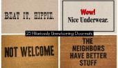 25 hilarante peu accueillants Paillassons