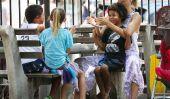 Heidi Klum Has A Déjeuner date avec ses enfants (Photos)