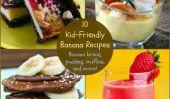 10 kid-friendly banane Recettes