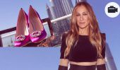 Sarah Jessica Parker montre sa collection de chaussures à Dubaï