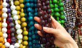Chaînes bricolent perle en bois - Instructions