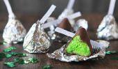 Gâteau irlandais Bisous: Comment faire de la Journée Treats ces adorables St Patty