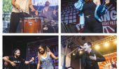 Panchanga 2015 Latino Festival de musique d'Austin Rocked avec l'espagnol, mexicain et interprètes texans