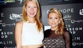 'Iron Man' Actrice Gwyneth Paltrow lance Healthy Food Ligne à New York